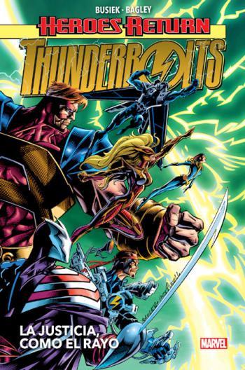 Portada del libro Thunderbolts 1: La justicia, como el rayo