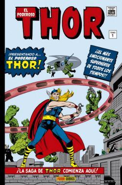 Portada del libro El poderoso Thor 01. La saga comienza