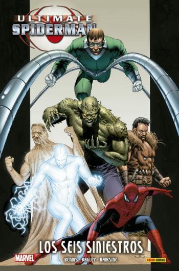 Portada del libro Ultimate Spiderman 05: Los Seis Siniestros