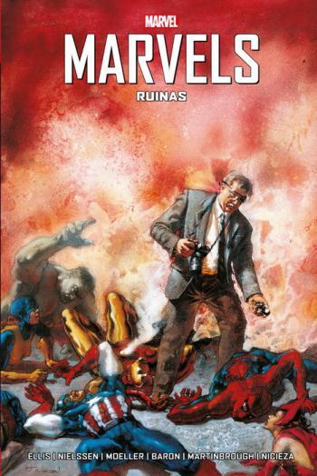 Portada del libro Marvels: ruinas.