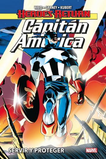Portada del libro Capitán América: Servir y Proteger