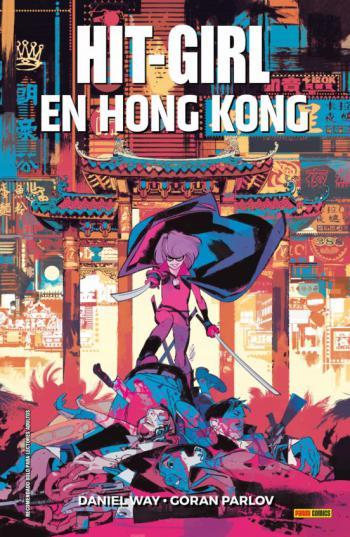 Portada del libro Hit-Girl en Hong Kong