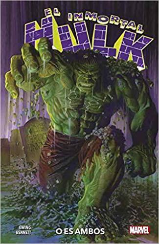 Portada del libro El Inmortal Hulk 01: O es ambos