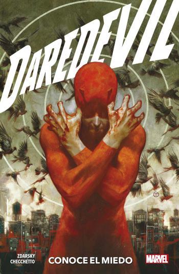 Portada del libro Daredevil 01: Conoce el miedo