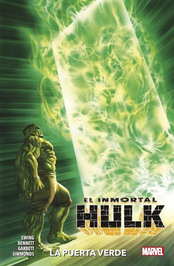 Portada del libro El Inmortal Hulk 02: La puerta verde