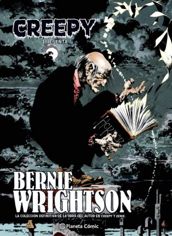 Portada del libro Creepy presenta: Bernie Wrightson