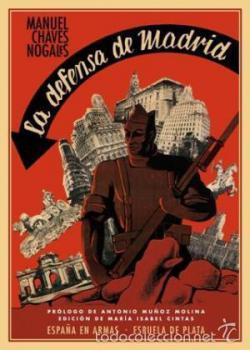 Portada del libro La defensa de Madrid