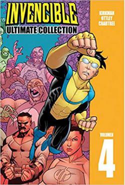 Portada del libro Invencible ultimate collection vol. 4