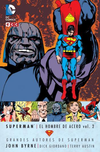 Portada del libro Superman: El Hombre de Acero vol. 2