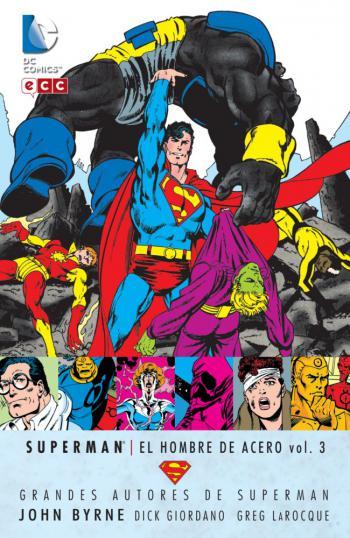 Portada del libro Superman: El Hombre de Acero vol. 3