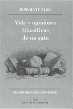 Portada del libro Vida y opiniones filosóficas de un gato