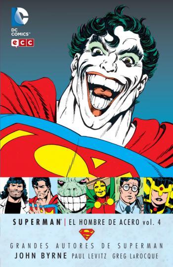 Portada del libro Superman: El Hombre de Acero vol. 4