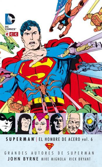 Portada del libro Superman: El Hombre de Acero vol. 6