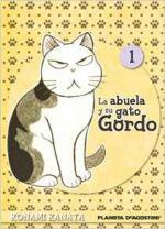 Portada del libro La abuela y su gato gordo 1