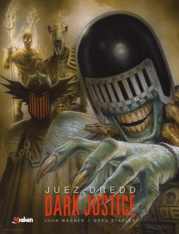 Portada del libro Juez Dredd: Dark Justice