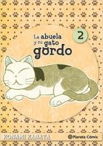 Portada del libro La abuela y su gato gordo 2