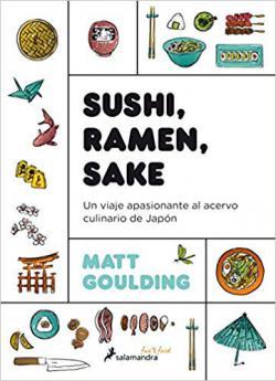 Portada del libro Sushi, ramen, sake