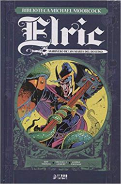 Portada del libro Elric. Marinero de los mares del destino