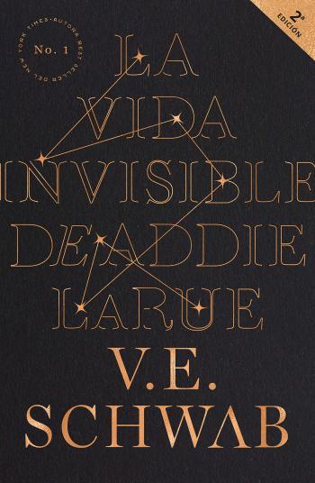 Portada del libro La vida Invisible de Addie Larue