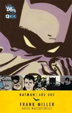 Portada del libro Batman: Año uno