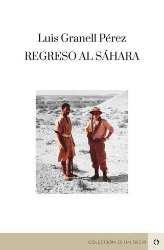 Portada del libro Regreso al Sáhara