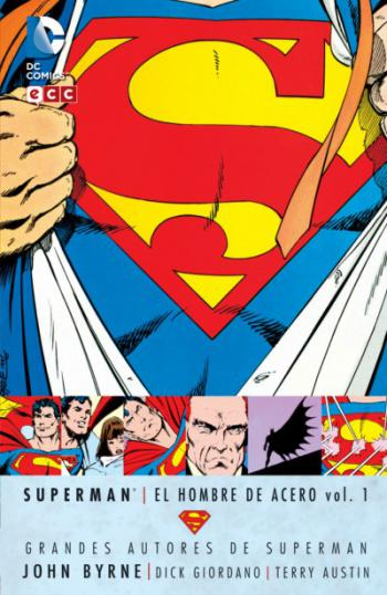 Portada del libro Superman: El Hombre de Acero vol. 1