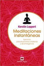 Portada del libro Meditaciones instantáneas