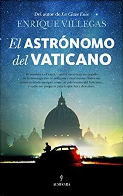 Portada del libro El astrónomo del Vaticano