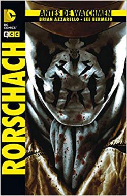 Portada del libro Antes de Watchmen: Rorschach