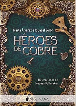 Portada del libro Héroes de cobre