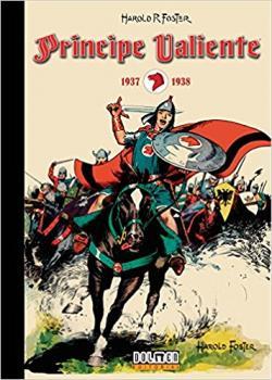 Portada del libro Príncipe Valiente 1937-1938