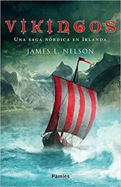 Portada del libro Vikingos: Una saga nórdica en Irlanda