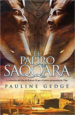 Portada del libro El papiro de Saqqara