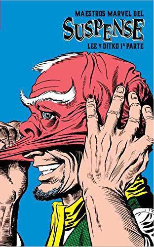 Portada del libro Maestros Marvel del suspense 1