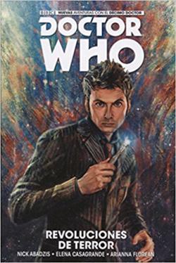 Portada del libro Doctor Who. Revoluciones de terror