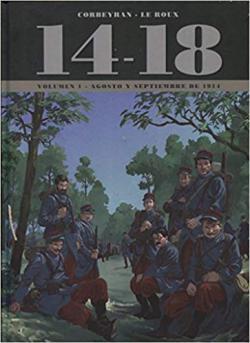 Portada del libro 14-18. Agosto y septiembre de 1914 - Volumen 1
