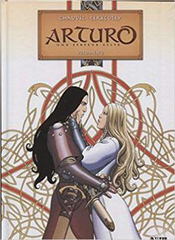 Portada del libro Arturo: Una epopeya celta. Integral nº 2