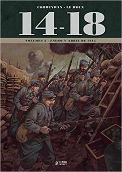 Portada del libro 14-18. Enero y Abril de 1914 - Vol. 2