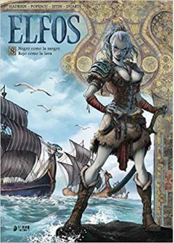 Portada del libro Elfos 8