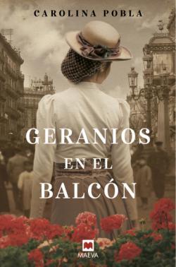 Portada del libro Geranios en el balcón