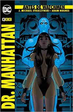Portada del libro Antes de Watchmen: Dr. Manhattan