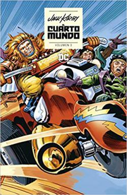 Portada del libro El Cuarto Mundo de Jack Kirby vol. 03