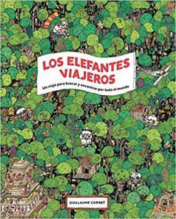 Portada del libro Los elefantes viajeros