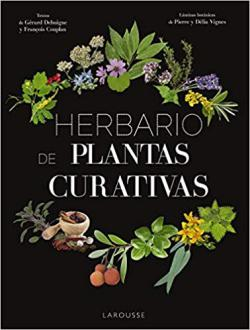 Portada del libro Herbario de plantas curativas