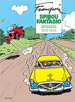 Portada del libro Spirou y Fantasio Integral 4 (1954-1956)