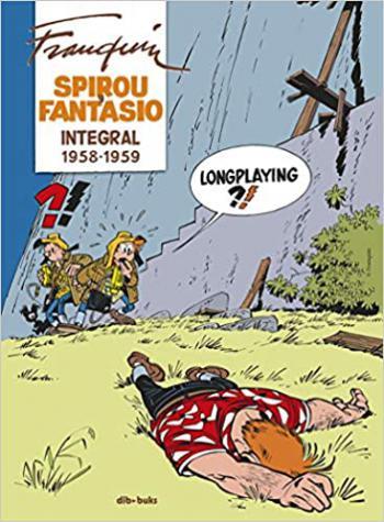 Portada del libro Spirou y Fantasio Integral VI