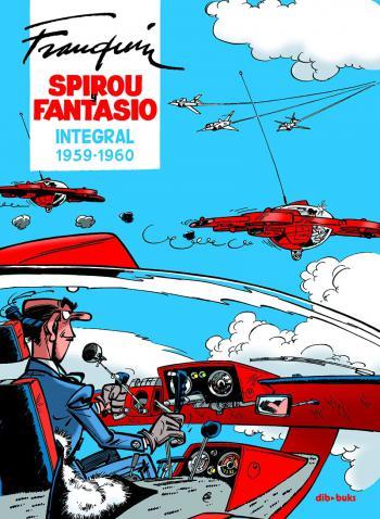 Portada del libro Spirou y Fantasio Integral 7 (1959-1960)