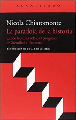 Portada del libro La paradoja de la historia