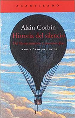 Portada del libro Historia del silencio