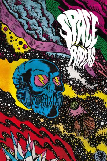 Portada del libro Space Riders 1